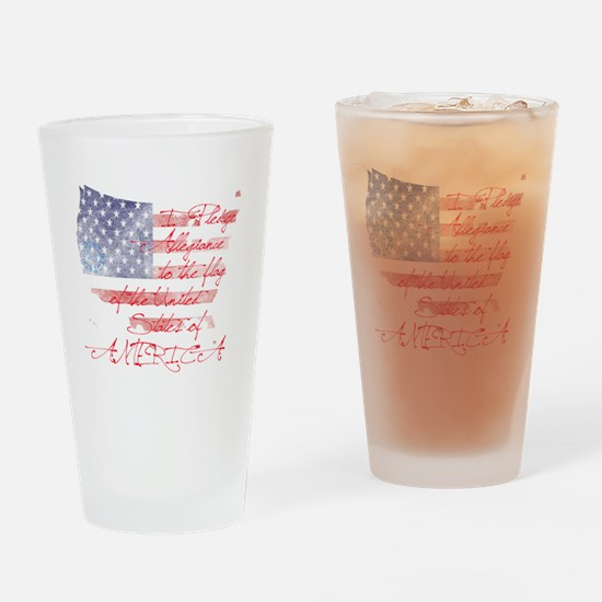 usa_baby Drinking Glass