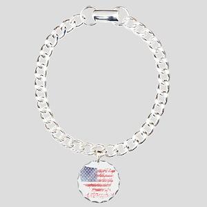 usa_baby Charm Bracelet, One Charm