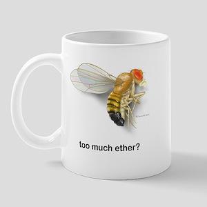 too much ether? Mug