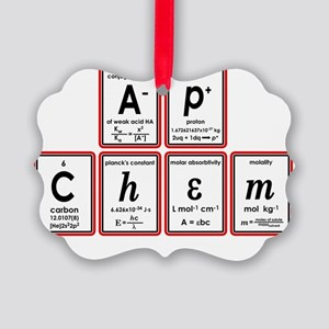 apchem symbols Picture Ornament