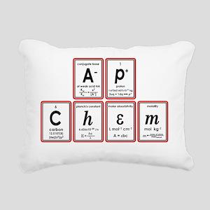 apchem symbols Rectangular Canvas Pillow