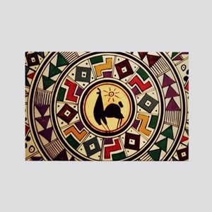 bolivia-llama-mousepad Rectangle Magnet