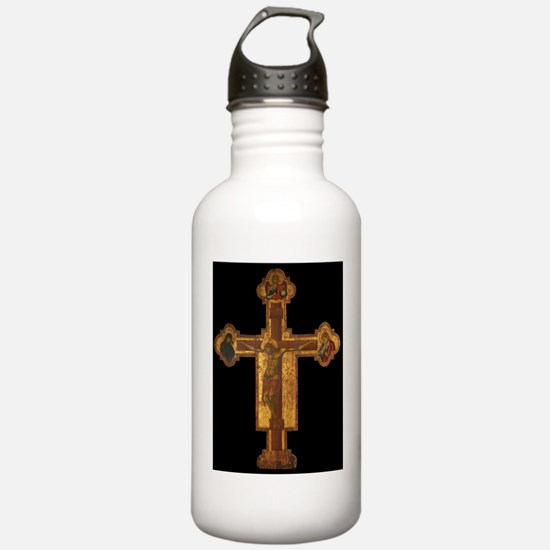 14th_Century_Crucifix_ Water Bottle