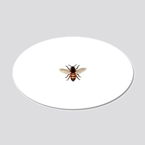 Honey%20bee 20x12 Oval Wall Decal
