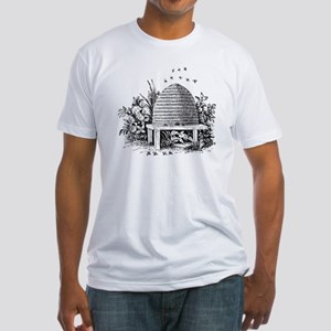 beehive Fitted T-Shirt