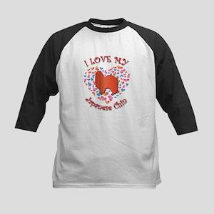 Love Chin Kids Baseball Jersey
