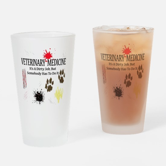veterinariandirtyjobuse Drinking Glass