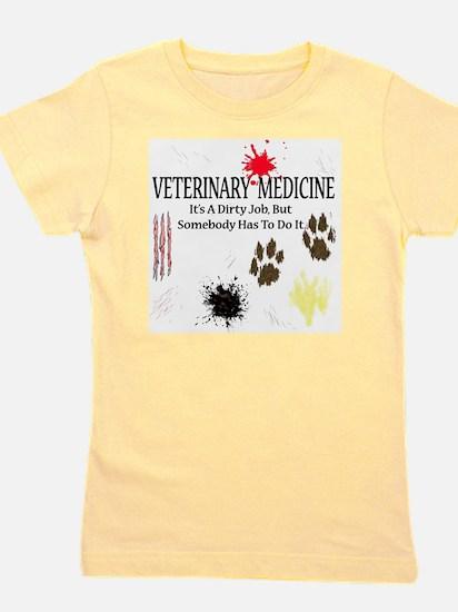 veterinariandirtyjobuse Girl's Tee