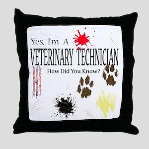 vettechuse Throw Pillow