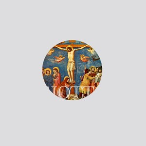 Giotto Crucifixion Mini Button