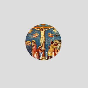 Giotto Crucifixion Mini Button