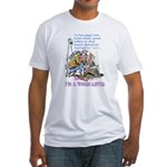 I'm A Woodcarver Fitted T-Shirt