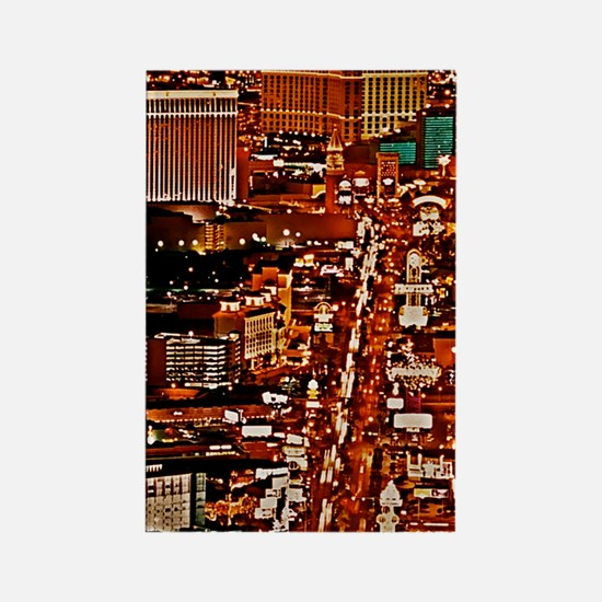 Las Vegas Strip Itouch2 Itouch4 I Rectangle Magnet