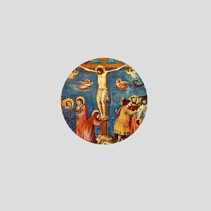 Giotto Crucifixion.No Text Mini Button