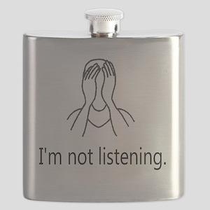 Im not listening Flask
