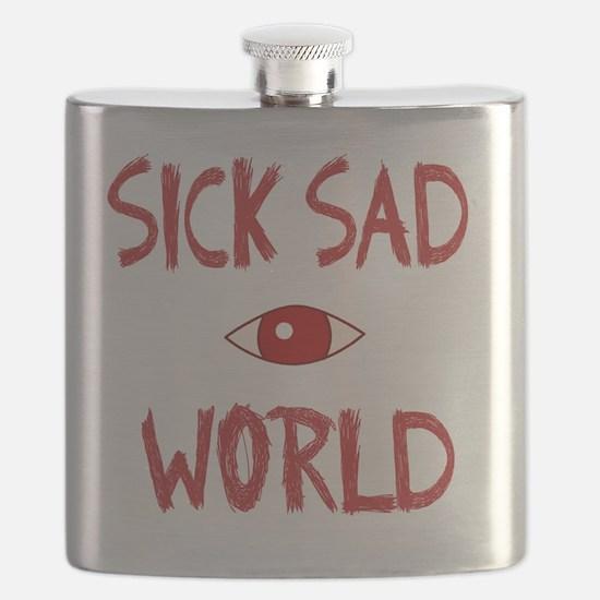 SICK SAD WORLD Flask