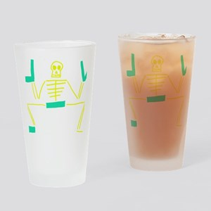 Death of a Mormon Drinking Glass