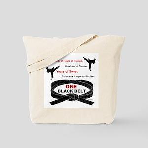 ONE Black Belt 1 Tote Bag