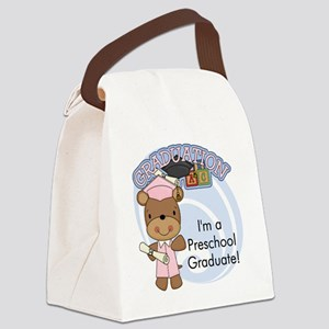 123bearpreschoolgrad2 Canvas Lunch Bag