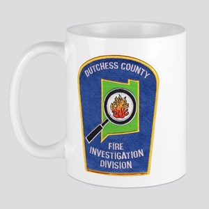 Dutchess Fire Investigation Mug