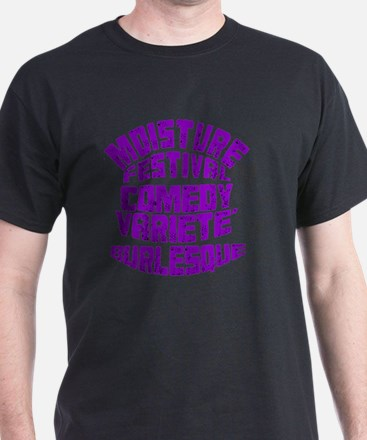 LetteringPurpleTrans copy T-Shirt
