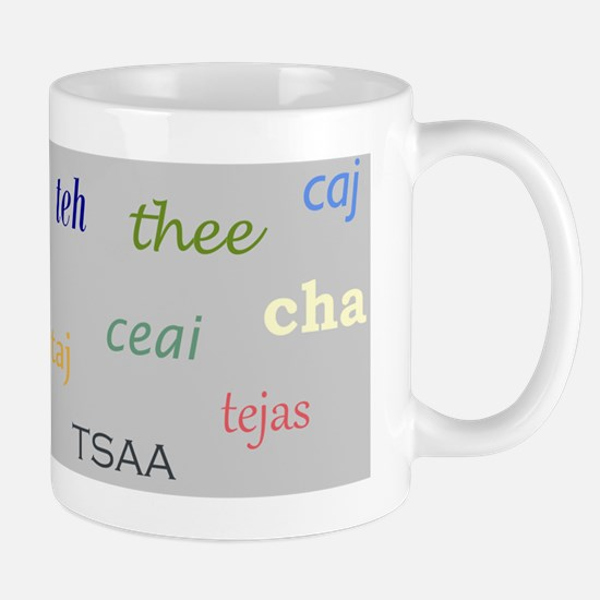 Multi-Lingual Tea Mug
