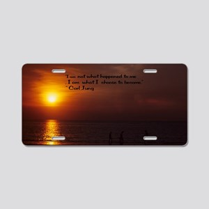 I become18x12 Aluminum License Plate