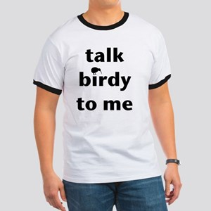 Talk birdy black Ringer T