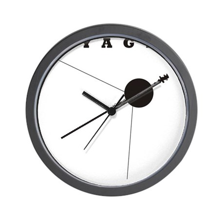 Voyager_Silhouette_RK2011_10x10 Wall Clock