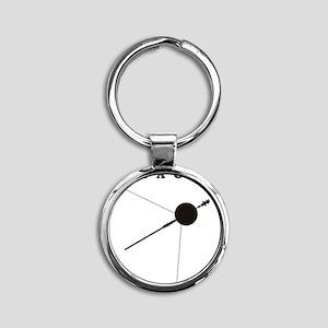 Voyager_Silhouette_RK2011_10x10 Round Keychain