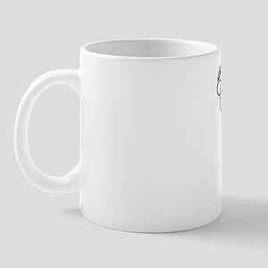 Cribbage Girl - Black Mug