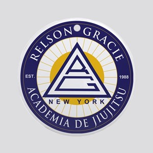Relson Gracie New York Academy Round Ornament