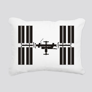 ISS_Drawing_RK2011_10x10 Rectangular Canvas Pillow