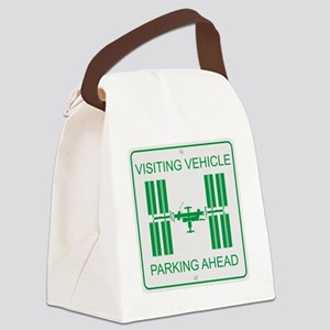 ISS_Visiting_Vehicle_RK2011_10x10 Canvas Lunch Bag