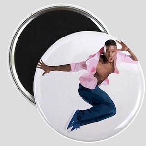 dance10_wht Magnet
