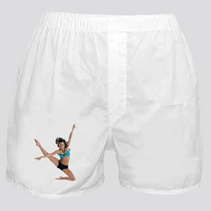 dance7_wht Boxer Shorts