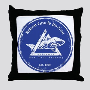 Gracie NY Logo Distressed Throw Pillow