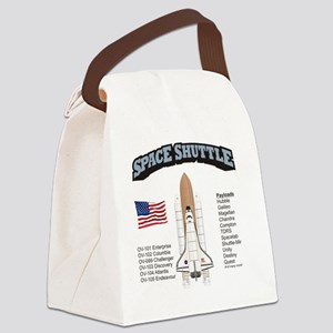 Shuttle_History_RK2011_10x10 Canvas Lunch Bag