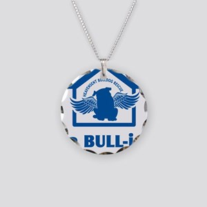 bullyfes11_blue Necklace Circle Charm