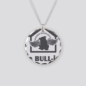 bullyfes11_gray Necklace Circle Charm