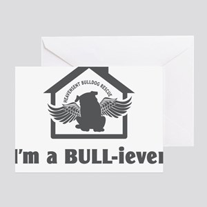 bullyfes11_gray Greeting Card