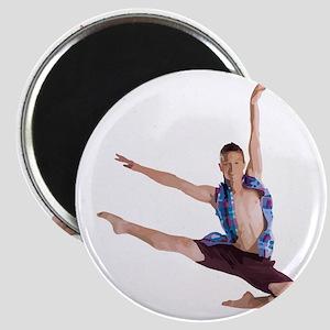 dance12_wht Magnet
