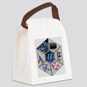 abstract_logo_copy Canvas Lunch Bag