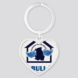 bullyfes11_2blues Heart Keychain
