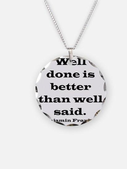 welldoneblack Necklace