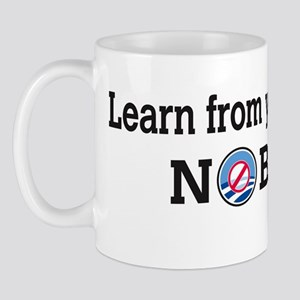 learn_from_your_mistake_nobama_sticker Mug
