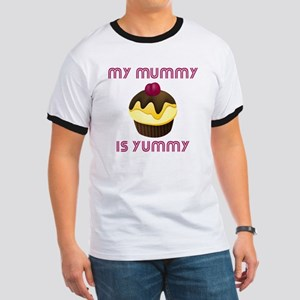 10 x 10 my munny is yummy Ringer T