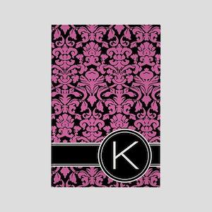 441_black_pink_K2 Rectangle Magnet