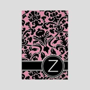 441_black_pink_Z Rectangle Magnet