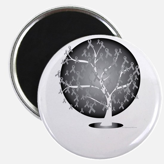 Lung-Cancer-Tree-blk Magnet